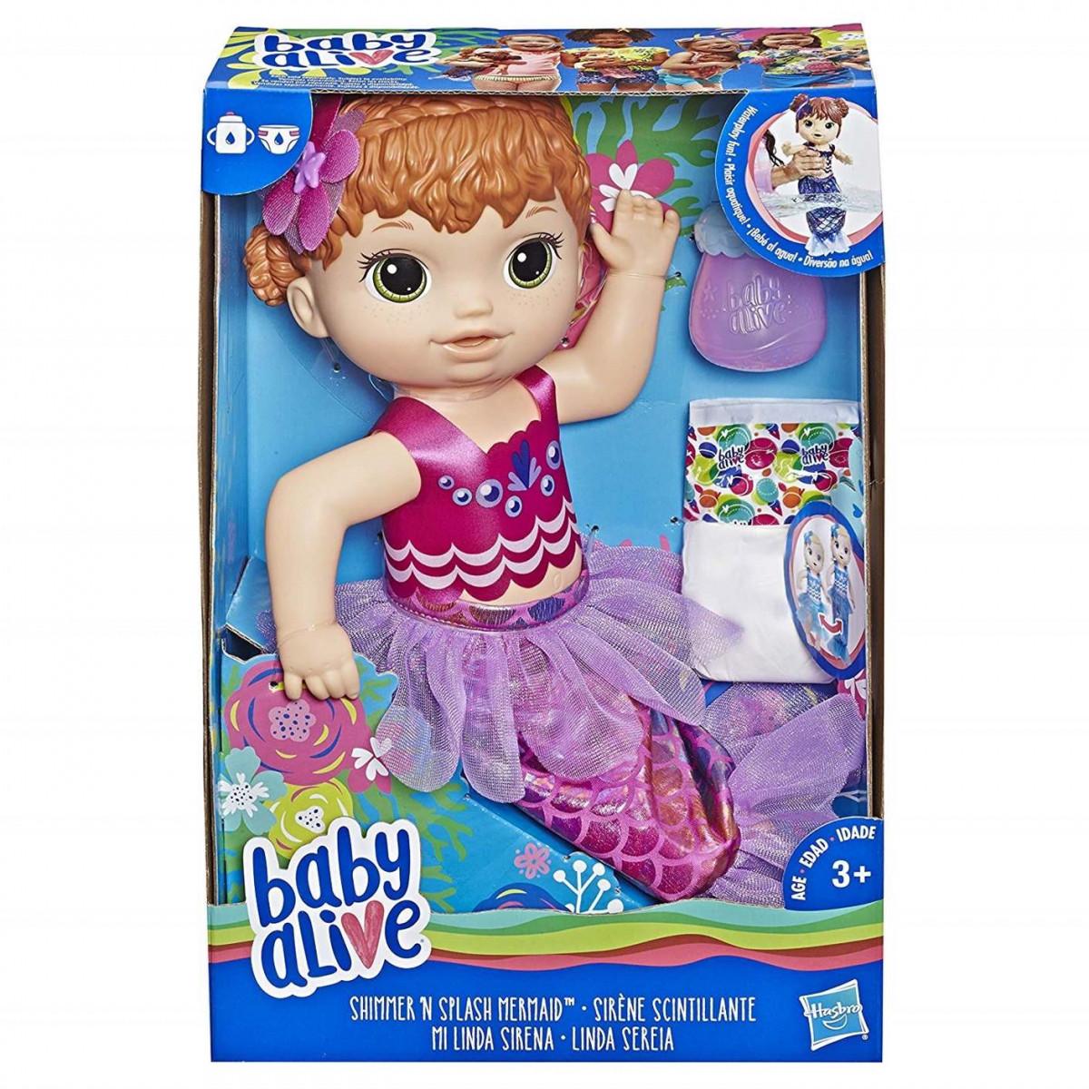 Boneca Baby Alive Sereia Loja Da Criança