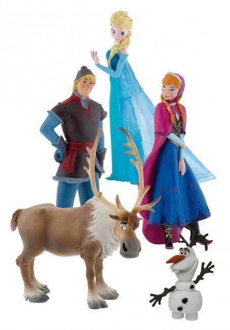 Conjunto 5 Figuras Frozen Loja Da Crianca