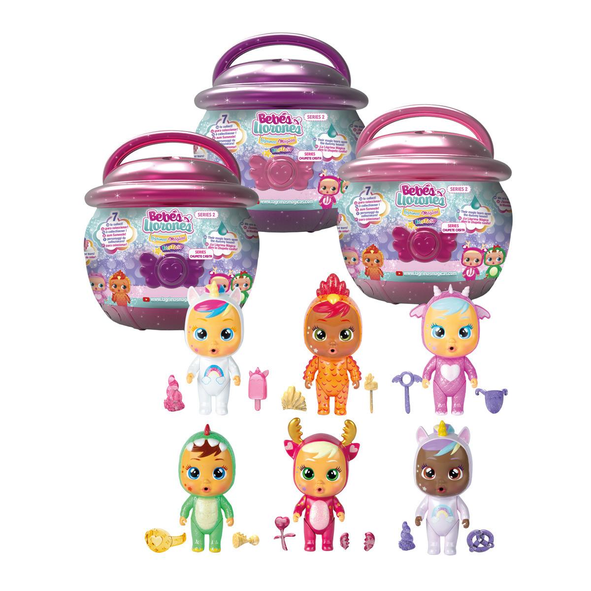 IMC Toys - Boneco Bebé Cry Babies IMC Toys (11 cm)
