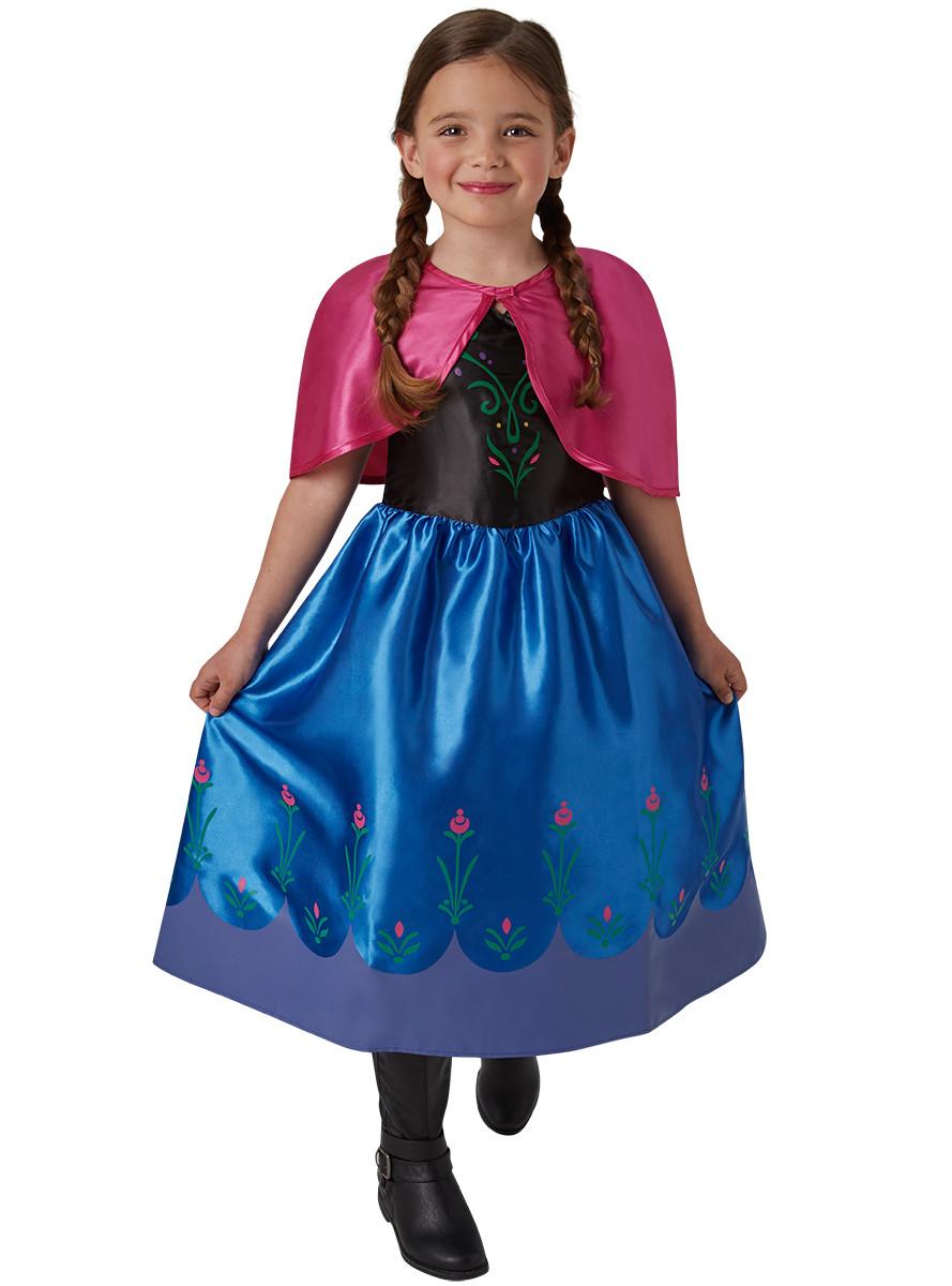 Vestido Princesa Elsa Anna Frozen Infantil Festa Aniversário
