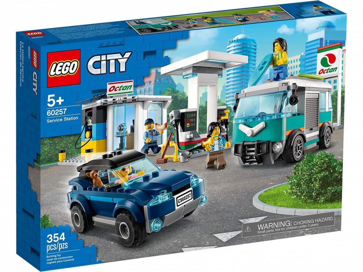 LEGO City Nitro Wheels 60257 Posto de Combustível