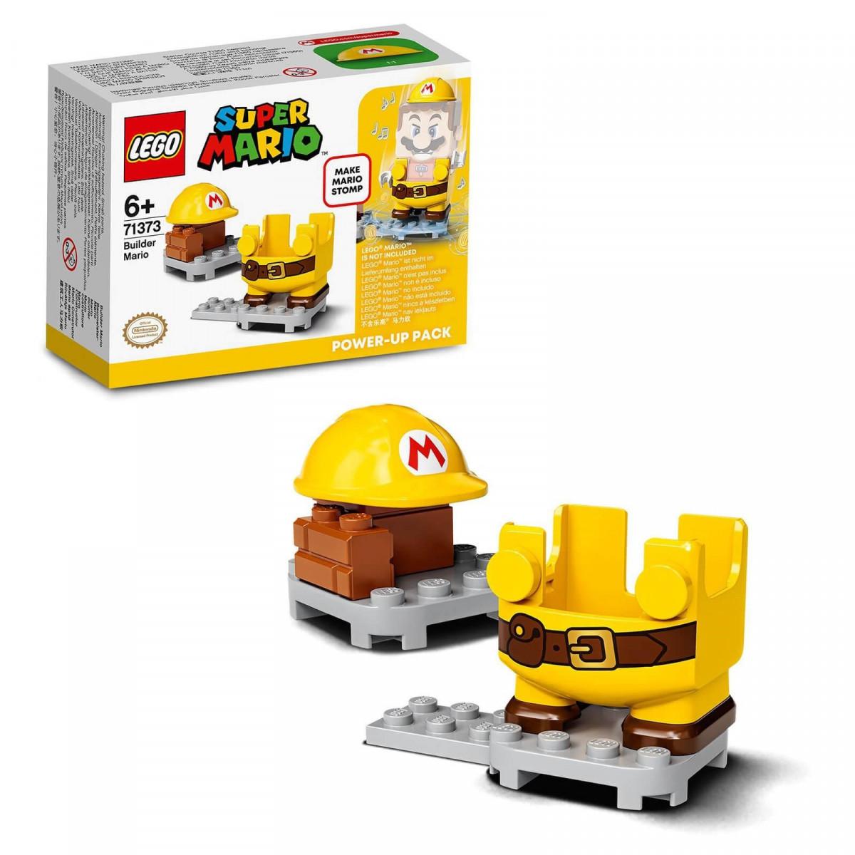 LEGO Super Mario 71373 Pack Power Up Mario Construtor