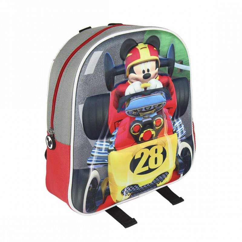Mochila 3D Mickey Roadster Disney 31cm