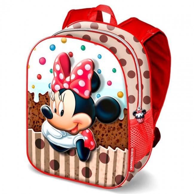 19a00cc7d Mochila 3D pré- escolar 31cm Minnie Disney Muffin