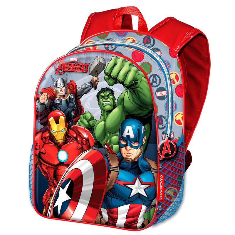 Resultado de imagem para Mochila Escolar 40cm Avengers Marvel