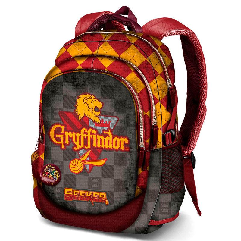 Mochila Trolley Escolar Harry Potter Quidditch Slytherin 48cm