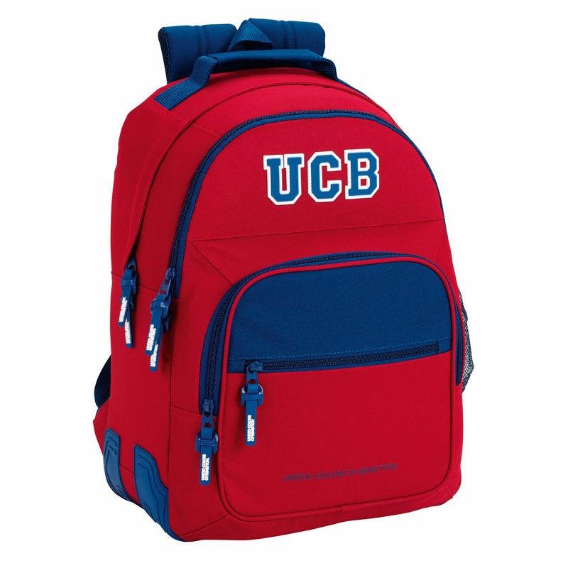 benetton ucb mochila escolar