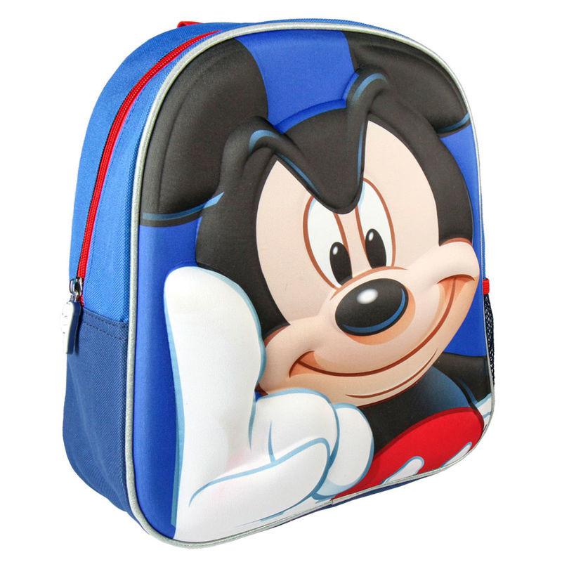 Mochila pré escolar Mickey Disney 31cm