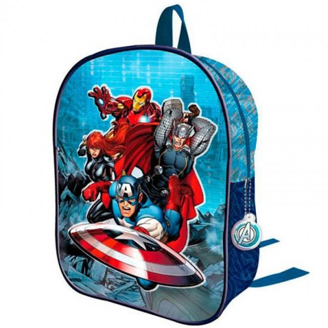 Mochila pre escolar 3D Marvel Avengers Assemble | Loja da