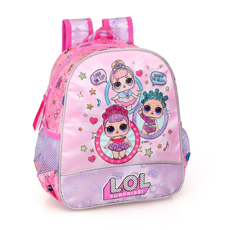 Mochila Pré Escolar LOL Surprise 30cm | Loja da Criança