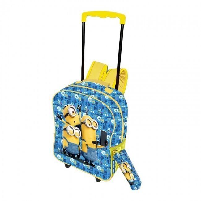 Comprar Mochila Minions 40cm de CYP | Loja Online Brinquedos