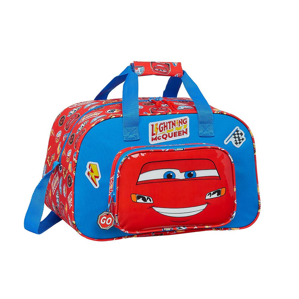 Saco de Desporto Cars Mc Queen Azul Vermelho (23 L)