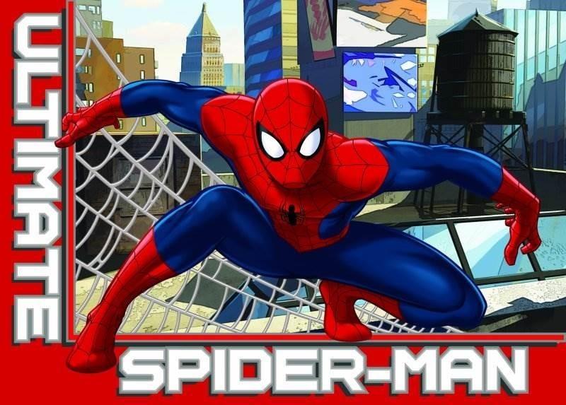tapete marvel ultimate spiderman loja da crian a. Black Bedroom Furniture Sets. Home Design Ideas