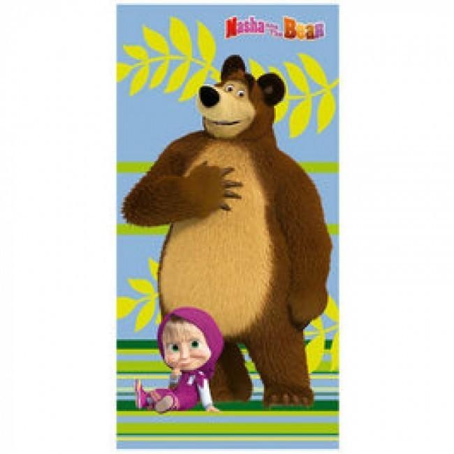 87ebe48a24 Toalha praia Masha e o Urso