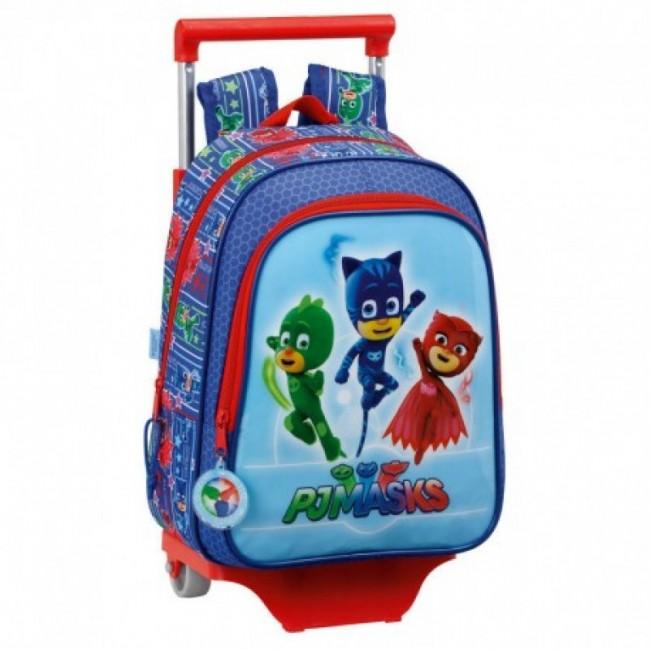 Mochila pré escolar 33cm Pjmasks | Loja da Criança