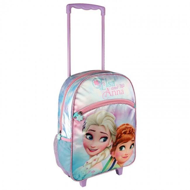 Mochila Escolar Infantil Holográfica Para Meninas Frozen 2