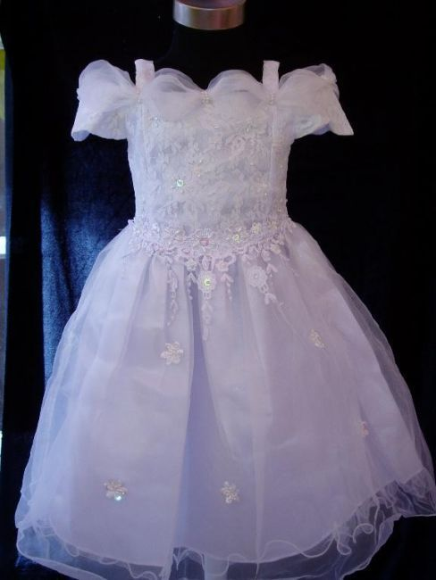 76025a06d Vestido de Cerimónia para Menina Princesa