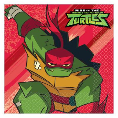 16 Guardanapos Tartarugas Ninja TMNT