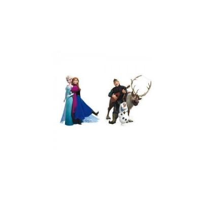 2 Figuras Cartão Disney Frozen