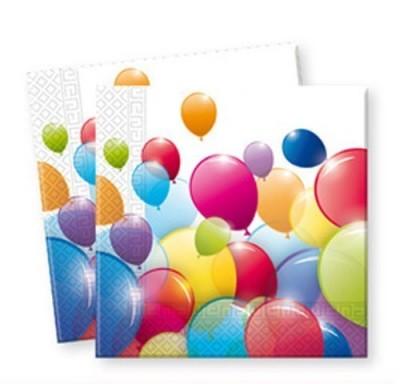 20 Guardanapos Balloon Party