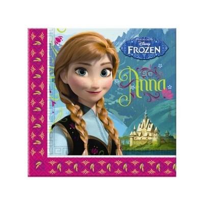 20 Guardanapos Festa Disney Frozen