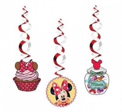 3 Espirais Decorativas Minnie Café
