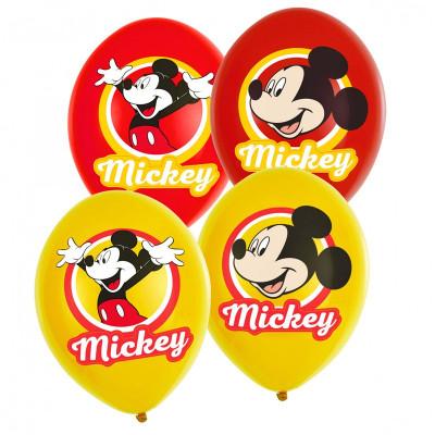 6 Balões látex Mickey 11