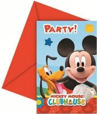 6 Convites festa Mickey