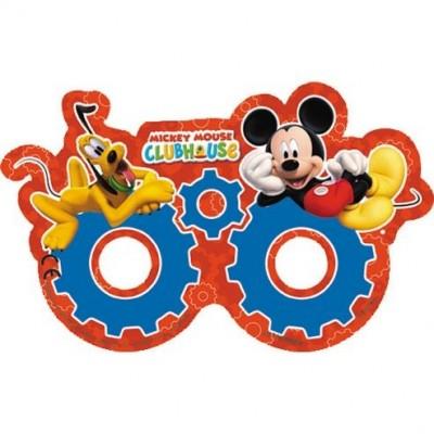 6 Mascaras óculos festa Mickey