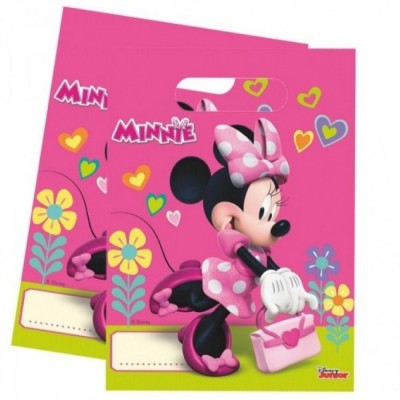 6 Sacos Festa Minnie Mouse