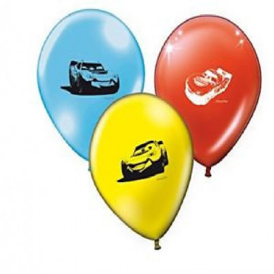 8 Balões Disney Cars