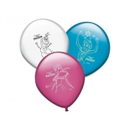 8 Balões Festa Disney Frozen