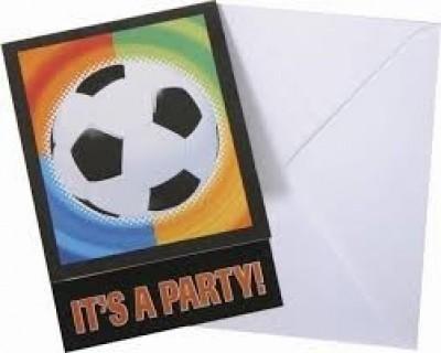 8 Convites festa  Futebol