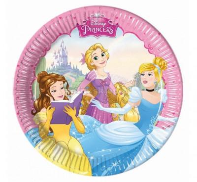 8 Pratos Princesas Disney Dreaming 20cm