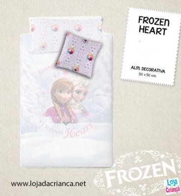 Almofada Decorativa Frozen Heart