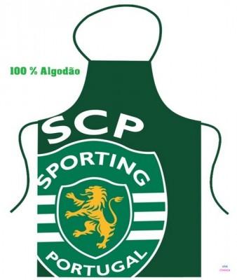Avental SCP - Logo do Sporting