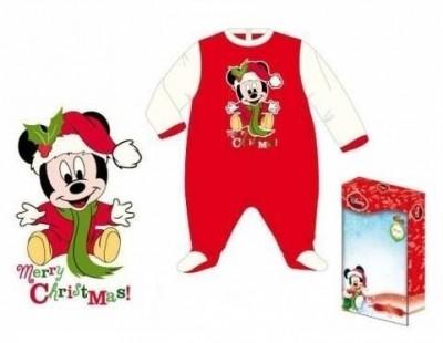 Babygrow Disney mickey Natal