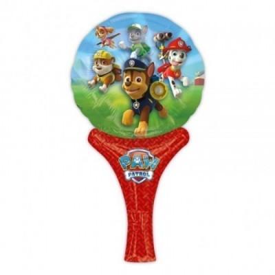 Balão com suporte da Patrulha Pata