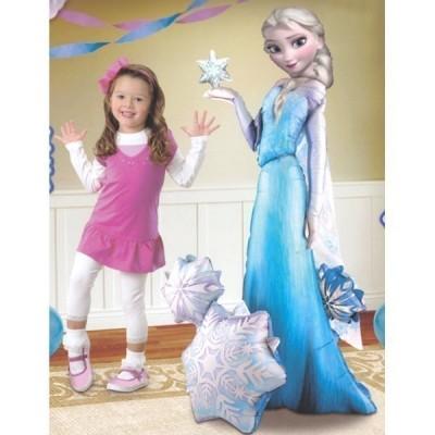 Balão Foil Elsa Frozen AirWalker 144cm