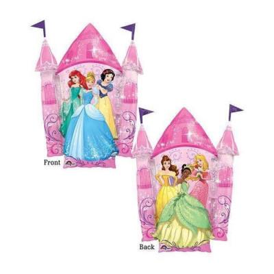 Balão Foil Supershape Castelo Princesas Disney