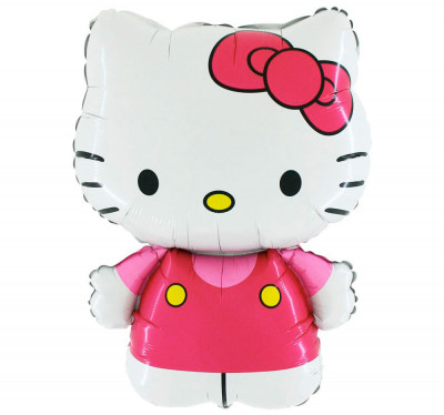 Balão Foil SuperShape Hello Kitty 76cm
