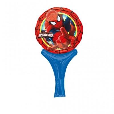 Balão Spiderman Inflate-a-Fun Foil 30cm