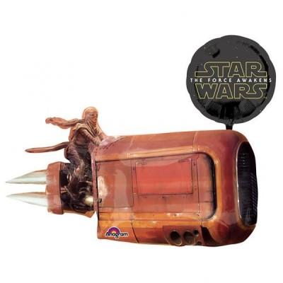 Balão Star Wars nave episódio 7