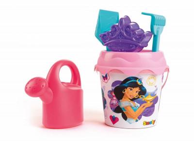 Balde + Acessórios + Regador Princesas Disney