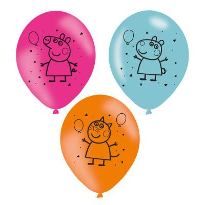 Balões Porquinha Peppa - 6 und