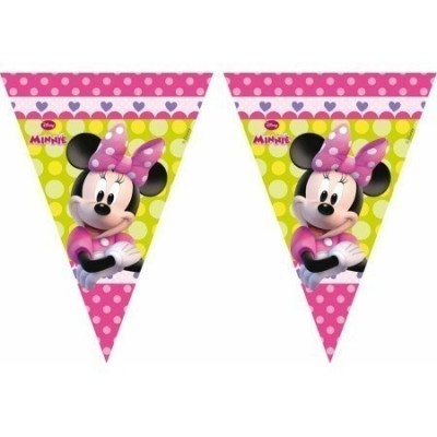 Bandeirolas Minnie Disney Bow-Tique