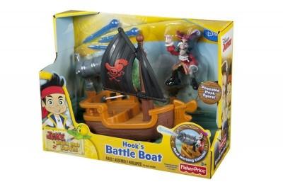 Barco do Capitão Gancho Fisher-Price