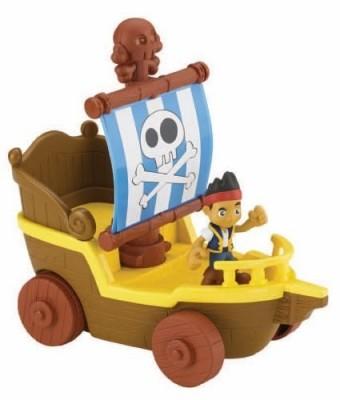 Barco navega e corre Jake Fisher Price