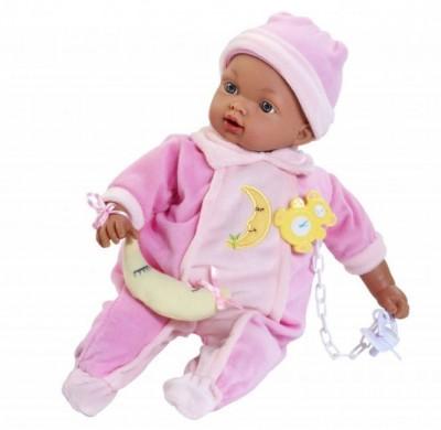 Bebé Mulato Rosa 33 cm c/ Sons