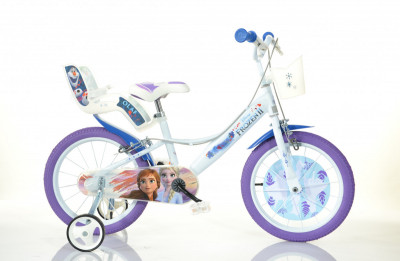 Bicicleta Frozen 2 - 14 polegadas